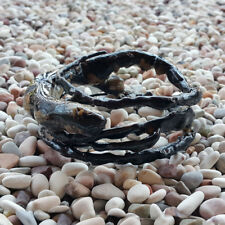 Genuine Handmade Coral Bangle Indonesian Black Akar Bahar Bracelet #06