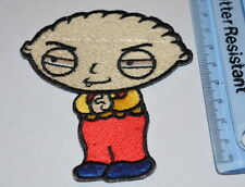#767 Stewie Griffin Family Guy Comic sew on iron on  Embroidered patch