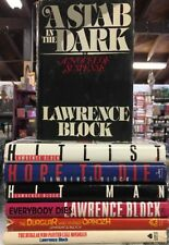 Lot Of 7 Lawrence Block Book Club Edition Hardcovers