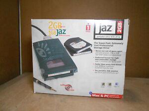 IOMEGA JAZ 2GB PORTABLE ULTRA SCSI DRIVE