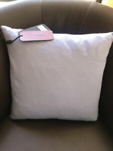 MISSONI HOME Baby Blue cushion with duck filling  16x16""