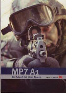 H&K Heckler&Koch MP7A1 sturmgewehr Prospekt army bundeswehr special forces