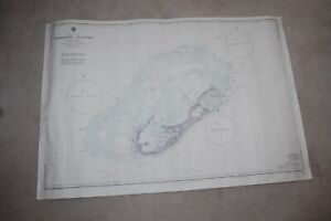 NAUTICAL CHART NO. 334, BERMUDA ISLANDS FROM ADMIRALTY SURVEYS TO 1959