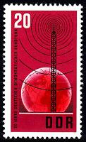 1111 postfrisch DDR Briefmarke Stamp East Germany GDR Year Jahrgang 1965