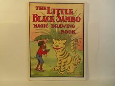 NICE! 1928 LITTLE BLACK SAMBO Magic Drawing Book Platt & Munk