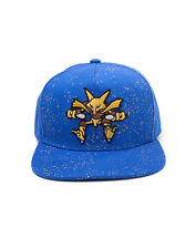 OFFICIAL NINTENDO - POKEMON ALAKAZAM PSYCHEDELIC DOTS BLUE SNAPBACK CAP (NEW)