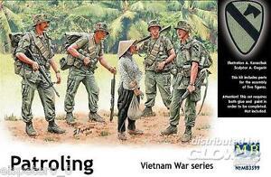 Patroling, Vietnam Guerre Série, Master Box Figurines 1:3 5, Art.n ° MB3599