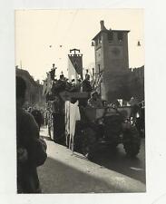 91543 FOTOGRAFIA ORIGINALE DI VERONA CARNEVALE DEL 1964