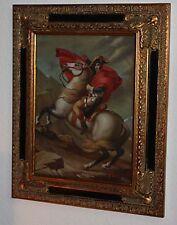 Bonaparte, beau portrait+cadre en bois moulé!