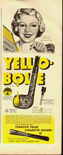 1947 Vintage ad for Yello-Bole Pipes/Honey Girl illustration (051513)