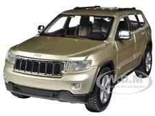 2011 JEEP GRAND CHEROKEE GOLD 1/24 DIECAST CAR MODEL BY MAISTO 31205