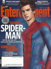Andrew Garfield Entertainment Weekly Jul 2011 Amazing Spider-Man Comic-Con