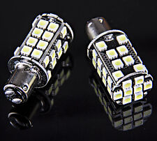 2x T25/S25 1157 Bay15d 40-SMD 5050 LED Tail Brake Stop Light Bulb Xenon White