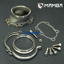 "MAMBA Turbo Dump Pipe Flange 5 Bolt to 3"" V-Band SILVIA S13 S14 S15 SR20 SR20DET"