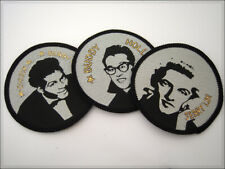 JERRY LEE, BUDDY HOLLY, CHUCK BERRY Vintage Patch. Kings of Rock & Roll. parche