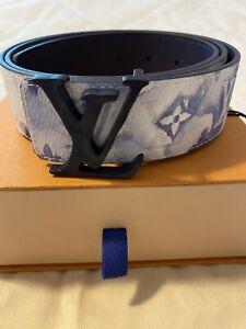 Louis Vuitton Virgil Abloh 2021 Pastel Watercolor Belt Reversible 95cm Sold Out!