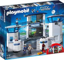 PLAYMOBIL 6872  Polizei-Kommandozentrale mit Gefängnis Spielset