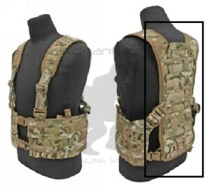 Tactical Tailor FIGHT LIGHT MOLLLE MAV Extended X Harness - multicam