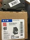 (1) Eaton Cutler Hammer CH260 Circuit Breaker, 2-Pole 60-Amp NEW