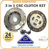 NATIONAL 3 PIECE CSC CLUTCH KIT  FOR VW CADDY CK10082-15