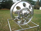 4 16x6 Ford Chevy Dodge 16 Dually Polished Rims 167 Ion 2 Frontrear Lugs