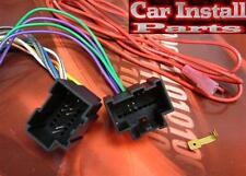 Pontiac Radio WIRE HARNESS INSTALL STEREO PLUG 2007-09