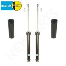BMW 3 Series E46 Pair Set of 2 Rear Shock Absorbers & Protection Boots Bilstein
