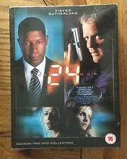 24 (Twenty Four) Season 2 DVD Collection (7 x DVD Set) New & Sealed