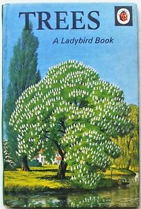 Vintage Ladybird Book – Trees – Nature Series 536 – Good/Very Good Condition