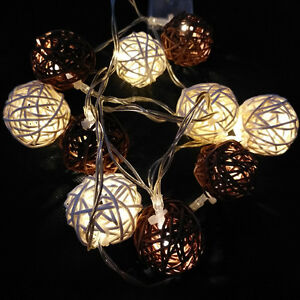 Battery Powered Globe Ball Fairy String Lights for Wedding Party Home Ornament