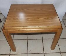Oak Formica Top End Table / Side Table by Lane  (T829)