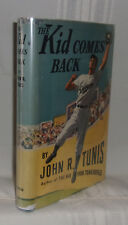 John R. Tunis THE KID COMES BACK First edition 1946 Baseball Juvenile Fiction