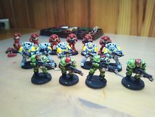 LOT x15 Warhammer 40K SPACE MARINE METAL AND PLASTIC OLD retro