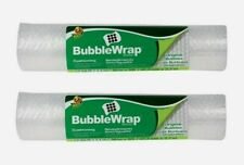 "2pk~ Duck 16"" x 9' BUBBLE WRAP Cushioning Fill Box Mail Ship Move Storage 286689"
