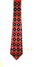 Tommy Hilfiger 100% Italian Silk Dress Golf theme Neck Tie Made in the U.S.A.