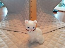 Fenton Usa Hand Painted Signed 1992 July Cat Excellent Condition