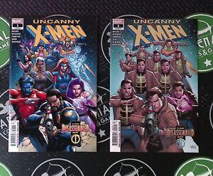 Uncanny X-Men #1-4 2019 Marvel Comics 1st Print Disassembled Arc Ed Brisson NM