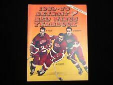 1969-70 Detroit Red Wings Hockey Yearbook