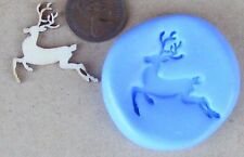 Reusable Christmas Reindeer Silicone Rubber Mould Food Safe Sugarcraft Tumdee