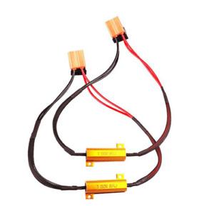 2x Résistance BA15S P21W 50w Canbus pour ampoule LED 1156 décodeur sans erreur