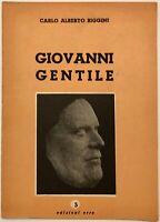 """RSI """"GIOVANNI GENTILE"""" Carlo Alberto Biggini Libro edizioni Erre"""