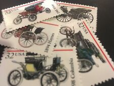 10 Antique Auto Stamps Dress Up Your Mail Perfect For Wedding &Holiday Letters