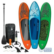 10 ft SUP Stand up paddle board gonflable Makani 320 cm avec pompe à air pagaie