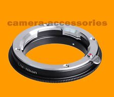 MACRO Leica M LM Lens to Nikon F mount camera adapter ring D3400 D500 D5 D7200