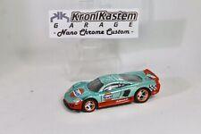 Hot Wheels Saleen S7 Blue Spectra / Orange Custom