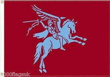 British Army Airborne Forces, Bellerophon Upon Pegasus 5'x3' Flag