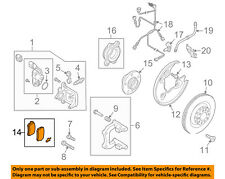 For 2011-2012 Audi Q5 Brake Pad and Rotor Kit Front and Rear Centric 23989KS