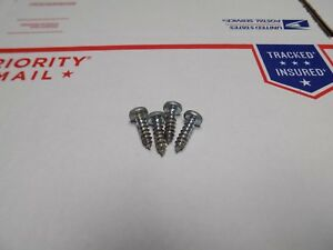 (4) Authentic Herman Miller Eames Segmented  Contract AG Table Base - Top Screws
