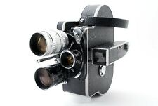 【EXC+++++】 Paillard Bolex H16 Reflex 16mm Movie film camera w/ 3 Lens From JAPAN