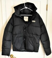New Authentic Men Boys Hollister Leucadia Puffer Jacket Soft Thermal Coat Size M
